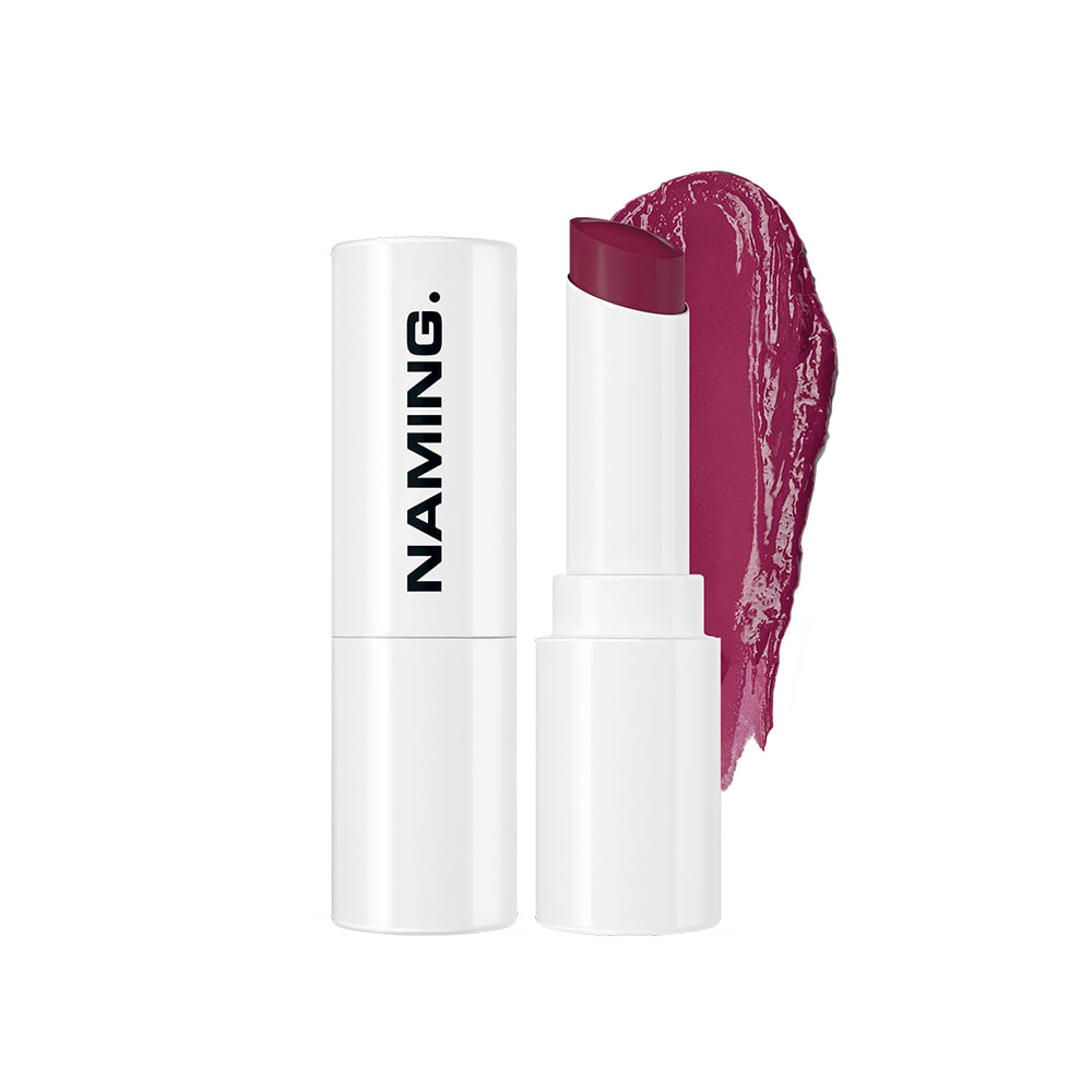 NAMING Melting Glow Lipstick (PKP01 MUTED PLUM)
